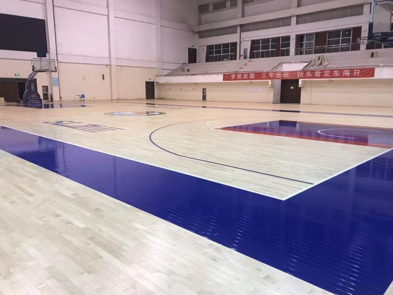 篮球场木地板的生产工艺是怎样的
